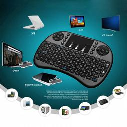2.4GHz Mini Wireless Keyboard and Touchpad Mouse Android Sma