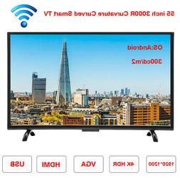 32'' 43'' 55'' Smart TV 3000R Curvature Curved T