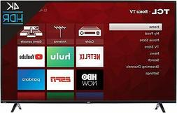 43 Inch TCL 4K Ultra HD Smart Roku LED TV 43S425 With 32 Inc