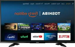 TOSHIBA 43 inches Class 4K  LED Smart UHD TV with HDR Fire T
