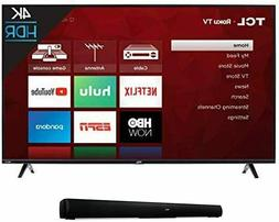 TCL 43S425 43 Inch 4K Ultra HD Smart Roku LED TV  with Sound