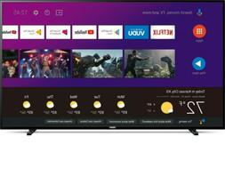 """Philips 65"""" Class 4K  Android Smart TV with Google Assistant"""