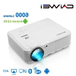 CAIWEI A7/A7AB Android Projector 1080p Full Hd Home Theater