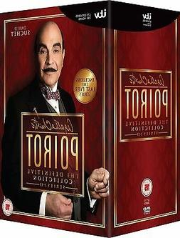 AGATHA CHRISTIE'S POIROT -COMPLETE TV SERIES 1-13 NEW AND SE