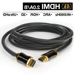 High Performance 4K HDMI Cable 10ft 3m for Ultra-4K TV, PS4,