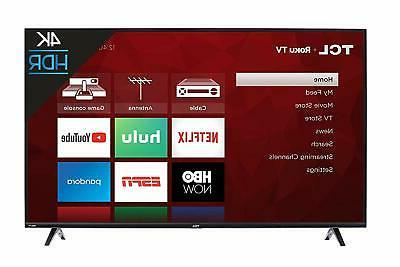 TCL - - LED Series - Smart - TV with TV