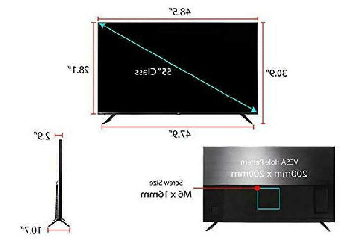 Tcl 55R617 55-Inch Ultra
