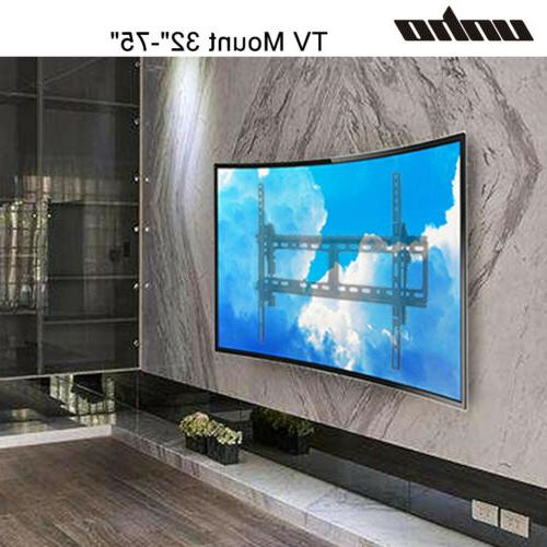 """Articulating Curved Panel TV Wall Mount Bracket for 32""""-75"""""""