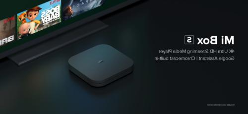 Mi Box S HDR Android TV with Assistant Remote Player