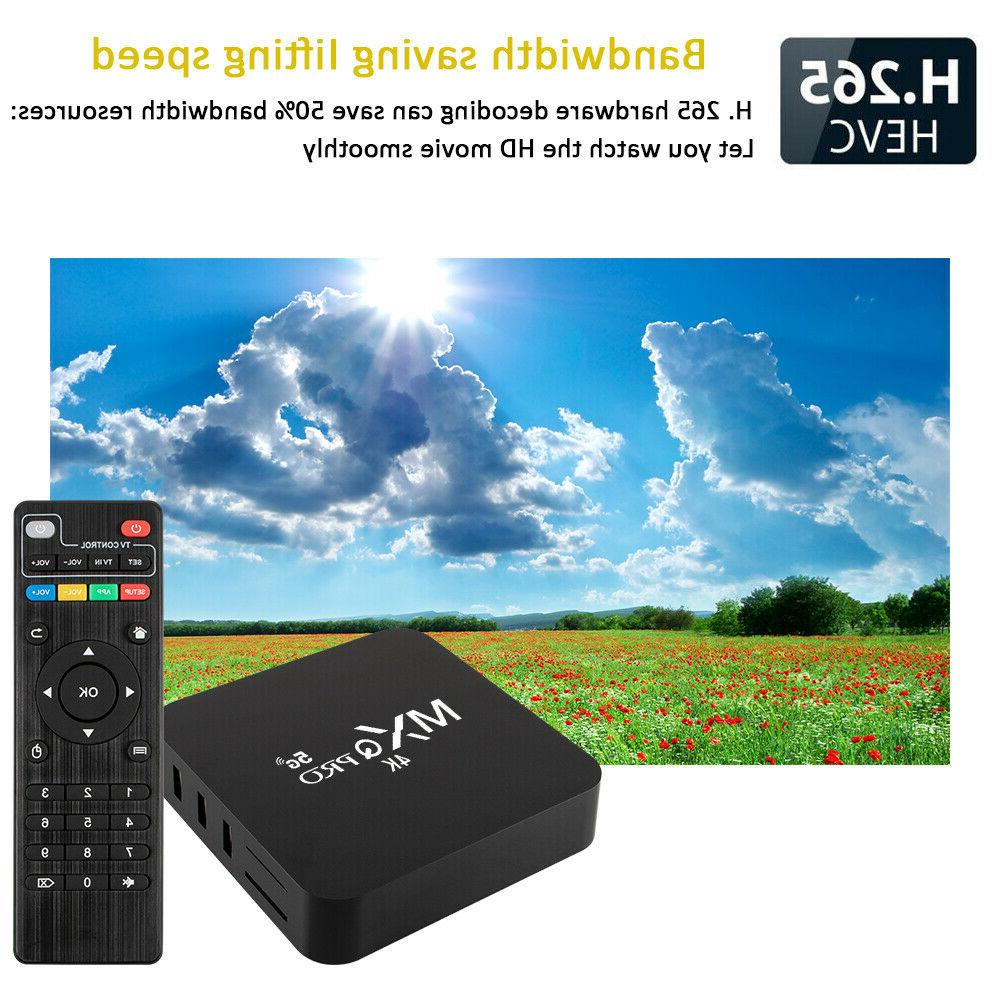 MXQ HD Wifi Android 7.1 TV