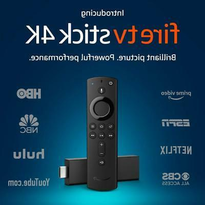 fire tv stick 4k and alexa voice