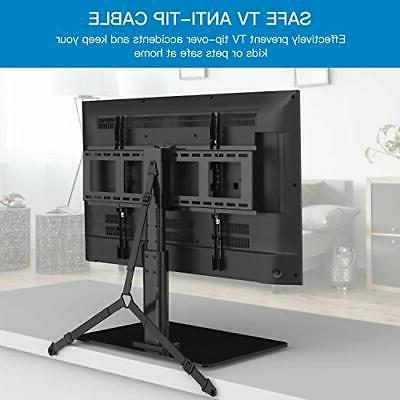 Swivel TV Universal Table Top for inch LCD 4K F