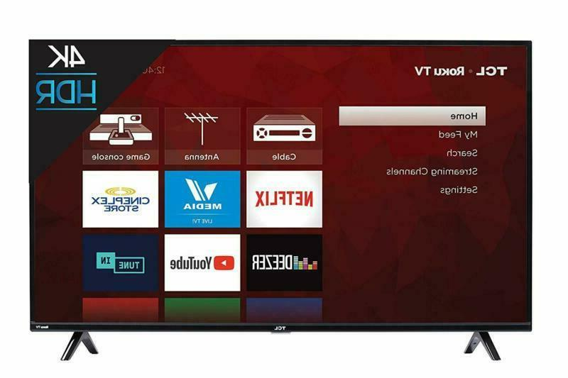 Tcl 50S425 50 Inch 4K Smart Led Roku Tv