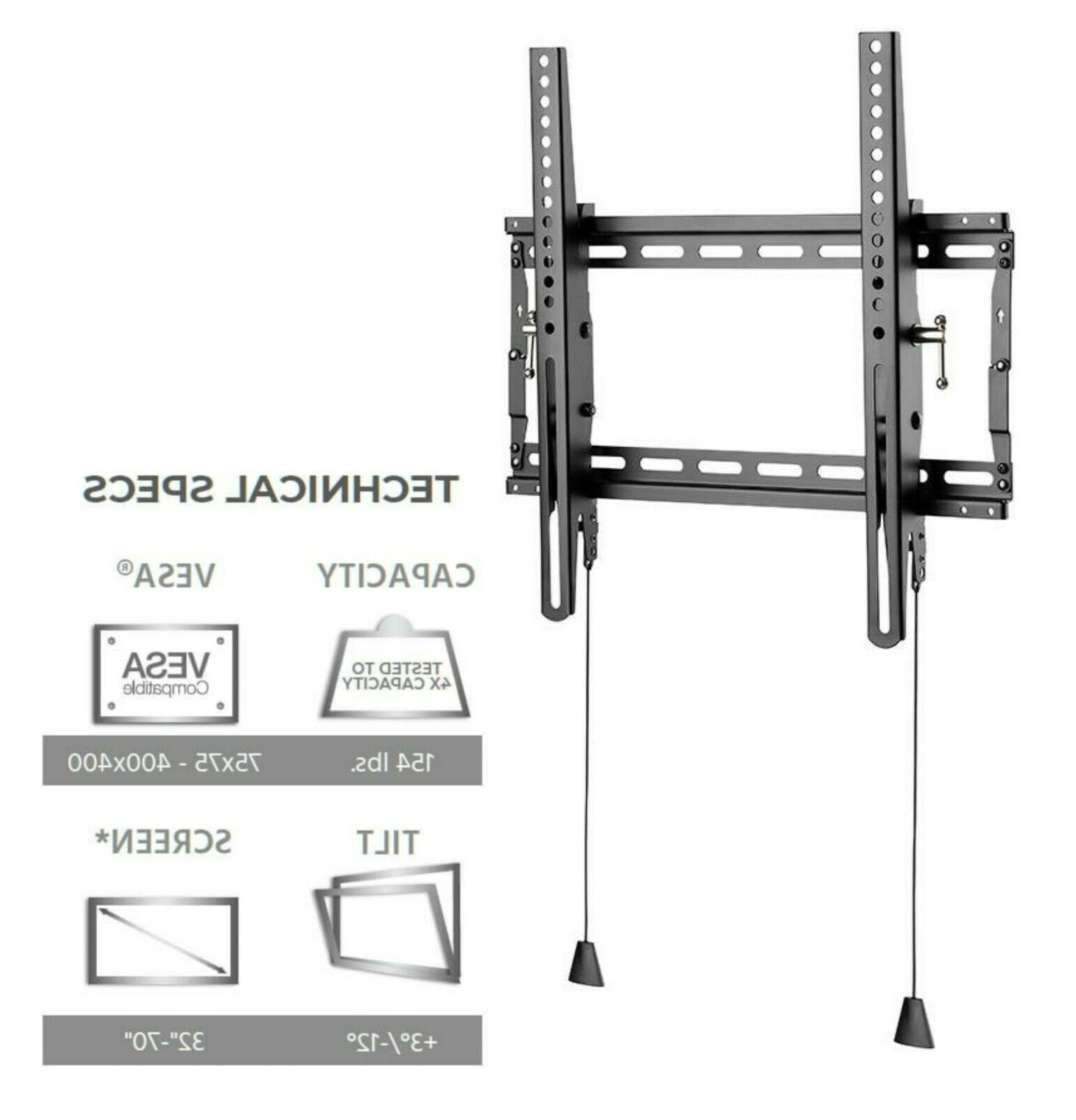 tilting tv wall mount for 24 26