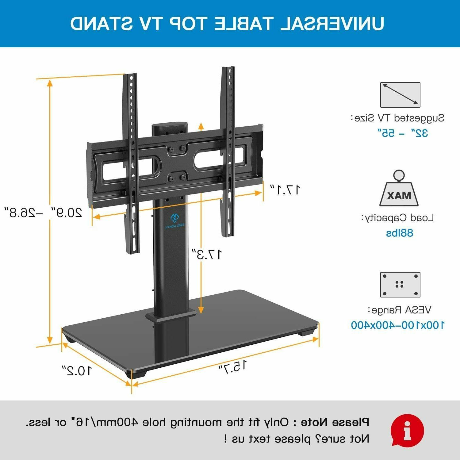 Universal Swivel TV Stand Base Tabletop TV for Inch OLED 4K