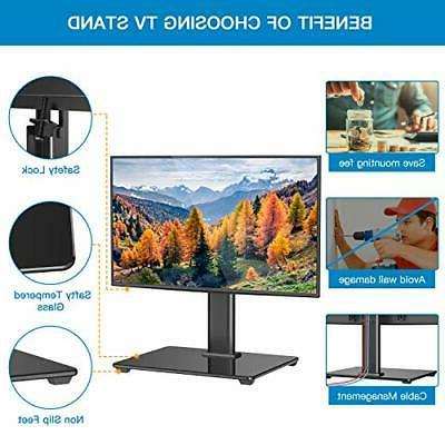 Universal TV Stand Table Top Base for 32 to LCD LED 4K Plasma