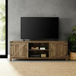 Rustic TV Stand Smart 4K Entertainment Center Farmhouse 70 7