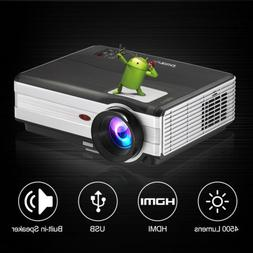 Smart Android Wifi Bluetooth Wireless LED Home Theater Proje