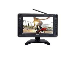 Axess TV1703-10 10.1-Inch LCD TV, ATSC Tuner, USB/SD Remote