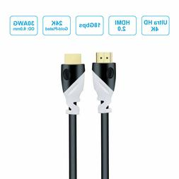 Ultra HD HDMI 2.0 Cable for 2160p 4k UHD TV High Speed Cable