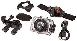 ProScan 720p Waterproof Action Camera with Mounting Accessor